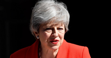 Royaume-Uni: Theresa May annonce sa démission